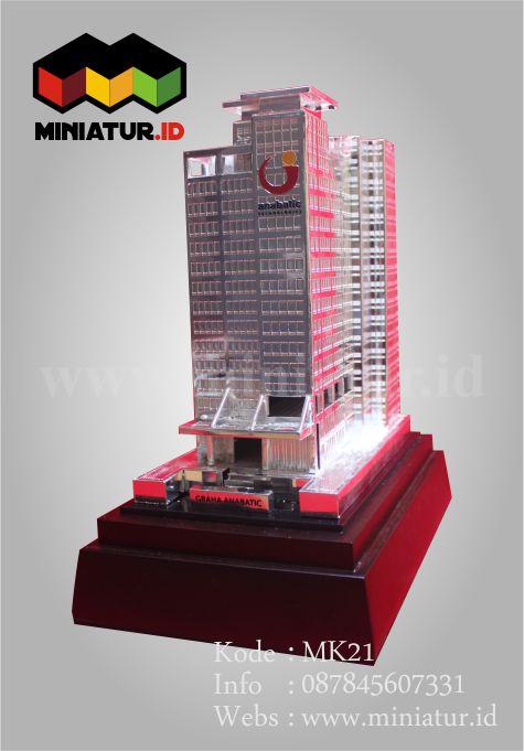 jual miniatur gedung bertingkat