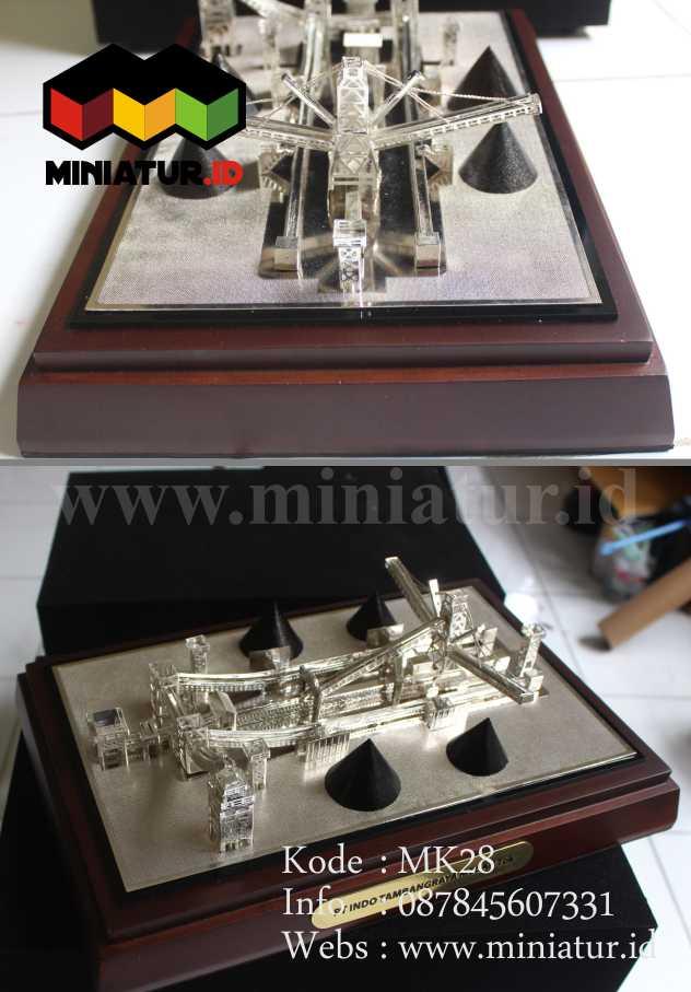 Miniatur Pabrik Batubara