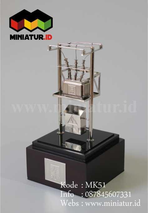 Jual Souvenir Miniatur Gardu Listrik