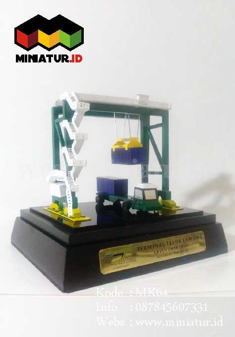Souvenir Miniatur Crane ASC