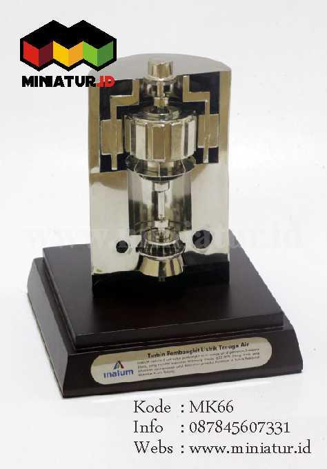Souvenir Miniatur Turbin Inalum