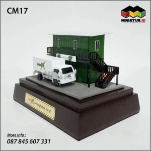 Mniatur Truk Logistik
