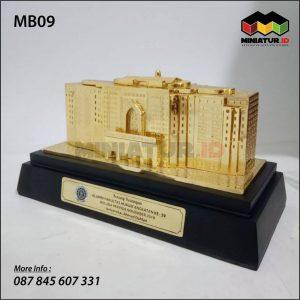 Miniatur Gedung Universitas Ahmad Dahlan Yogyakarta