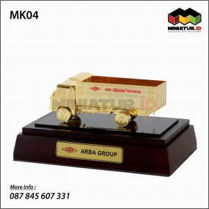 Miniatur Truck Gas LPG