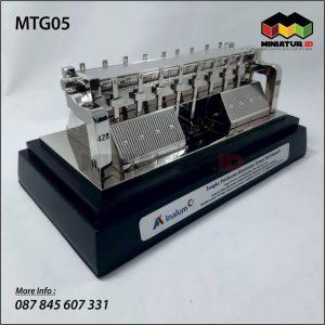 Miniatur Mesin Tungku Pelebur Allumunium Inalum