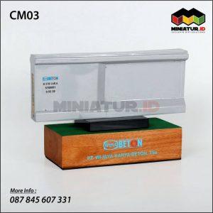 Miniatur Beton Wika