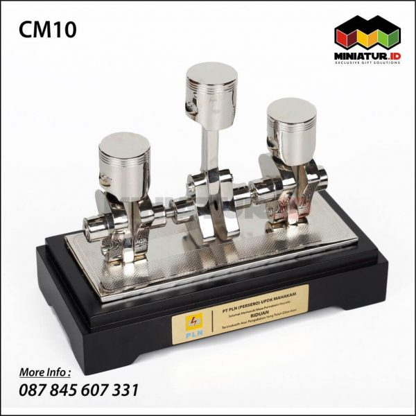 Miniatur Mesin Piston PLN