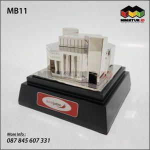 Miniatur Gedung Bank Jatim