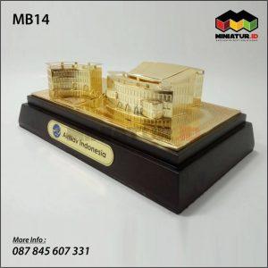 Miniatur Gedung Airnav Indonesia