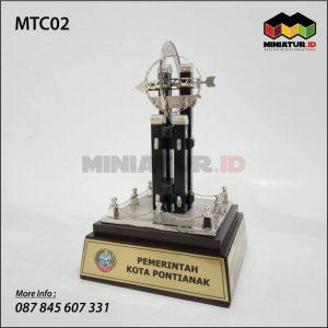Miniatur Tugu Khatulistiwa
