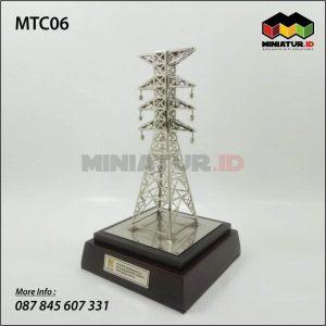 Miniatur Tower BTS