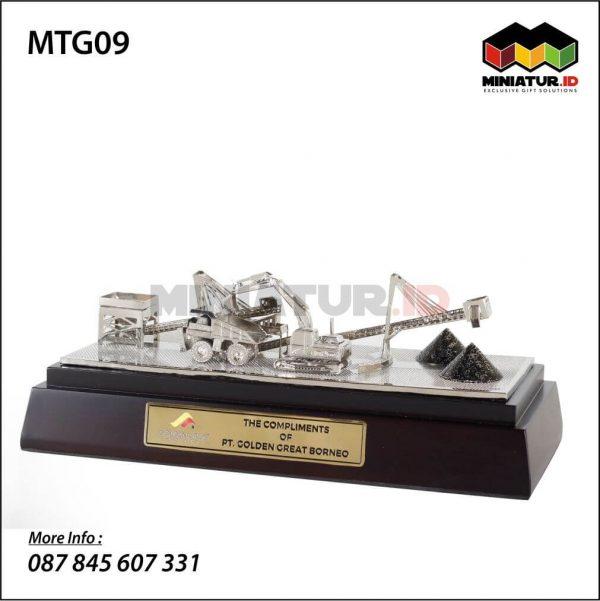 Miniatur Pabrik Conveyor Batubara